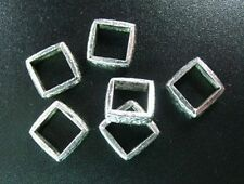 30pcs Tibetan Silver Open Square Connectors R779