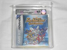 NEW Super Robot Taisen Original Generation 1 GameBoy Advance VGA 85 NM+ Silver
