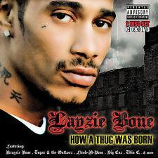 How a Thug Was Born [PA] by Layzie Bone (CD + DVD) Free Ship #LL35