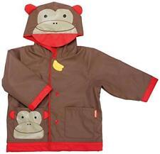 Skip*Hop Zoo Monkey Little Kid Raincoat [235853/Size Small (US 2/ EU 92cm)]