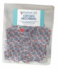 50 x 500cc PackFreshUSA OXYGEN ABSORBERS for Long Term Food Storage