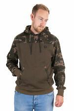 Fox Khaki/Camo Hoody Größe S M L XL XXL XXXL Karpfenangeln Pullover Sweater NEW