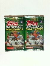 2x Lot 2012 Topps On-Line Exclusive MINI Baseball 10Card Pack Harper Darvish RC?