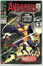 Avengers #34-1966 vg/fn Don Heck 1st Living Laser