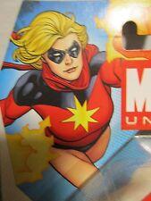 "Marvel Universe 3.75"" MS MARVEL - 1970's Classic VARIANT - MIP ! Avengers !"