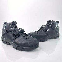 DS Nike Jordan Team Reign Mens Sz 9 Black Silver Rare Sample Shoes 311833-001