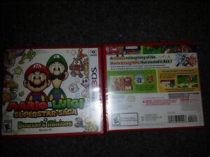 Mario and Luigi Superstar Saga + Bowser's Minions Nintendo 3DS 2017 N3ds New