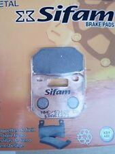 Pastiglie Sifam sinterizzate per pinza STAGE6 R/T 4 pistoncini