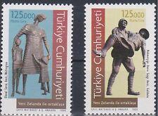 TURKEY 1998, NEW ZELAND JOINT ISSUE GALLIPOLI, WARS OF DARDANELLES, MNH