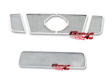 SS 1.8mm Mesh Grille Combo Customized For 2008-2014 Nissan Titan