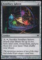 MTG Magic - (C) Conflux - Armillary Sphere - SP