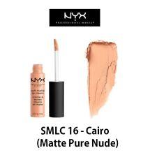 Authentic NYX Soft Matte Lip Cream - SMLC 16 Cairo (matte Pure Nude)