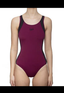 Speedo One Piece Swim Muscle Back - SIZE 10 - NEW RRP $80 Swimwear Sale
