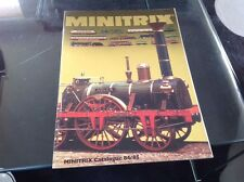 MINITRIX : CATALOGUE 19984 1985