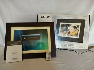 Coby 14 Inch Digital Photo Frame With Multimedia Playback