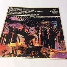 Rodrigo - Manuel de Falla Orchestra – Concierto De Aranjuez VG/VG VICS 1322