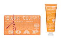 Barr Co Blood Orange Amber Bar Soap with Mini Handcreme  k hall designs