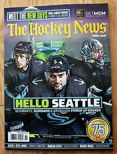The Hockey News 2021; Meet The New Guys; Hello Seattle Kraken