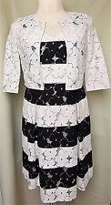 TAIFUN Zweiteiler Gr.46 Spitzen Baumwolle Kleid Blazer Damen Kostüm Anzug Jacket