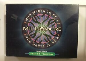 Who Wants To Be A Millionaire Board Game ABC TV Game Show New Sealed Box