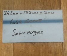 245mm X 135mm X 5mm Placa de Aluminio/hoja de grado 6082 T6 (HE30)