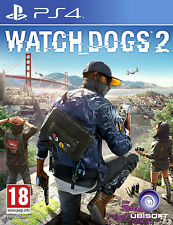 Watch Dogs 2 PS4 Playstation 4 IT IMPORT UBISOFT