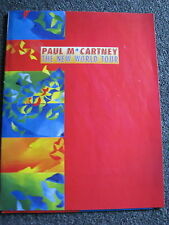 Paul McCartney-The New World Tour-Tour Magazin-UK-1993-Ex The Beatles-Promosheet