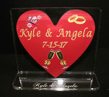 UV Color Printed Acrylic Awards, Trophies,  Plaques - No minumum