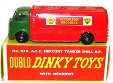 DINKY DUBLO NO. 70 AEC SHELL BP TANKER - NR MINT BOXED