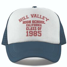 Hill Valley Back To The Future Inspired Trucker Cap Baseball Hat Marty McFly