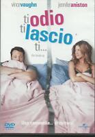 Ti odio, ti lascio, ti... (2006) DVD