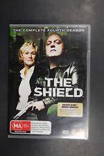 The Shield : Season 4 (DVD, 2007, 4-Disc Set)   (Box D202)