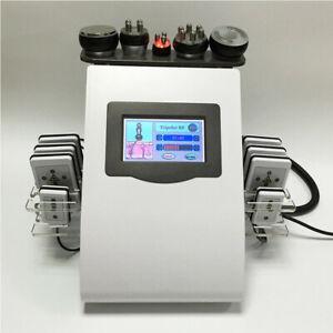 40k Cavitation RF Laser Lipo Machine 6 in 1 Body shaping Ultrasound slimming