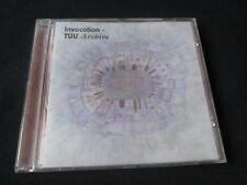 TUU Invocation Archive CD RARE HIC SUNT LEONES TRIBAL AMBIENT NEW AGE