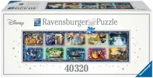 Ravensburger Memorable Disney Moments 40320 pieces jigsaw puzzle, RARE 17826