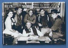 THE VIRGINIAN TV SHOW *2X3 FRIDGE MAGNET* CAST PHOTO WESTERN SERIES JAMES DRURY