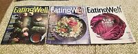 Magazine Lot (3) EATING WELL 2018 Jan/Feb, March/April, May/June Recipes Food