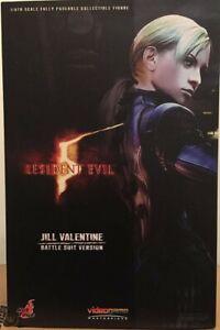 Hot Toys Resident Evil 5 Jill Valentine Battlesuit Version 1/6 Collectible...