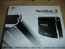 "Vantec NexStar-3 (Onyx) 3.5"" IDE to USB 2.0 External HD Enclosure SLED"