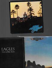 The Eagles Lot Sale (6) CD Remasters Hotel California Border Desperado Long Run