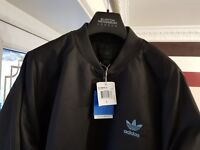 Adidas SS PADDED Jacket, L Brown - NWT