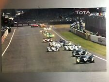 2004 24 Hours of Le Mans Race Car Print Picture Poster RARE Awesome L@@K
