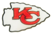 New Kansas City Chiefs Logo NFL embroidered iron on patch. 3 x 2 inch (i32)