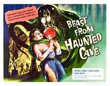 Beast From Haunted Cave Poster 02 A2 Box Canvas Print