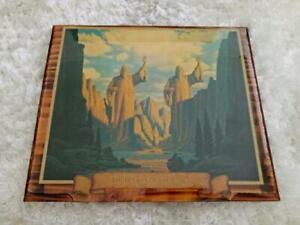 HILDERBRANDT Art- Pillars of the Kings Wooden Plaque- Tolkien Lord Of the Rings