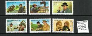 Dominica 1974 Churchill set MNH