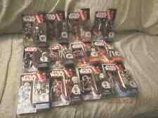 lot of 12 2015 Hasbro Disney Star Wars Force Awaken Figures Episode 7