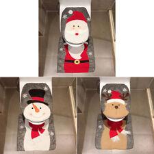 Present Toiletry Cover Christmas Bath Decorations Halloween 1 Set Xmas Decor LR
