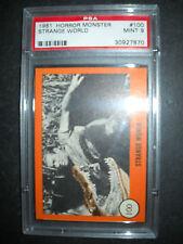 1961 HORROR MONSTER CARD #100  GRADED PSA 9 (ONLY 1 HIGHER)
