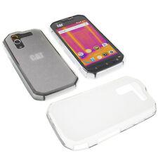 Tasche für CAT S60 Smartphone Handytasche Schutzhülle TPU Gummi Case Transparent